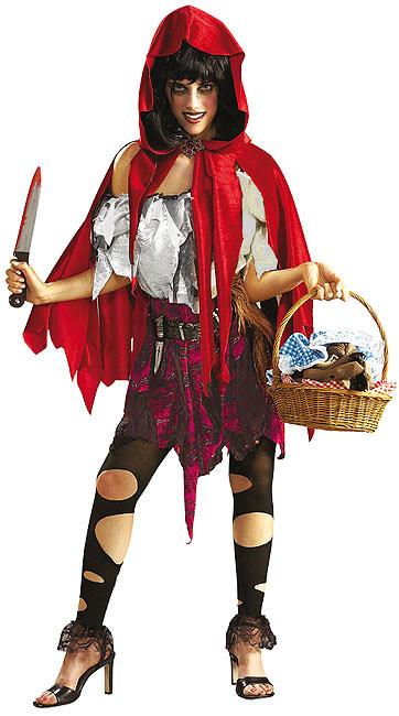 Lilla zombie Rödluvan - Halloweendräkt för vuxn e793d443a8e75