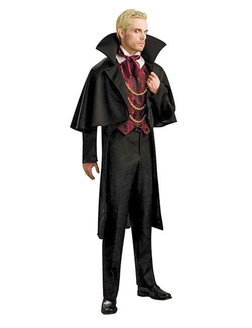 Greve vampyr - Halloweenkostym för vuxna f1c54fc2375b5