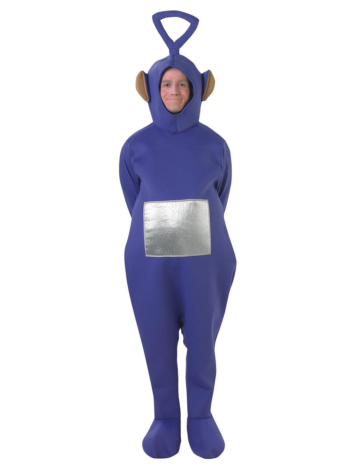 Tinky Winky™ från Teletubbies™ - Maskeraddräkt för vuxna 38e182e8d17b9