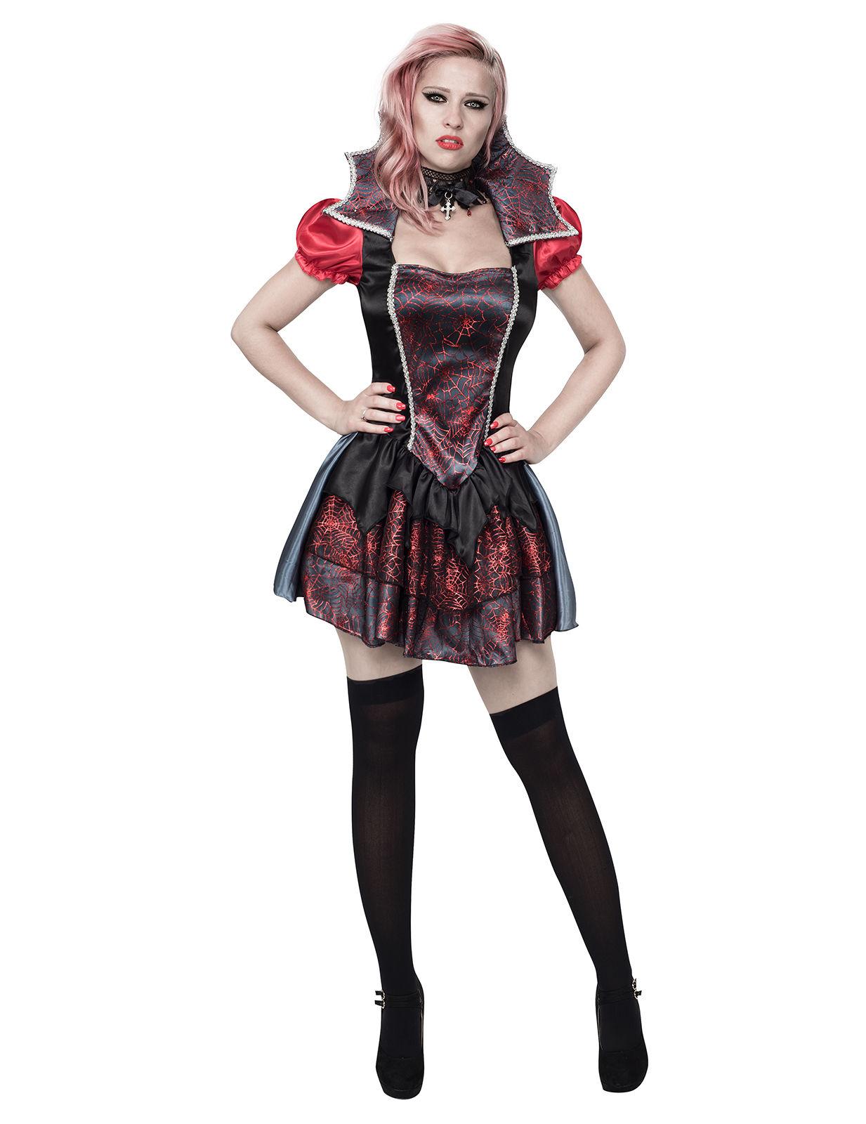 Tjusig vampyrklänning - Halloweenkostym för vuxna cdca2e35297cb