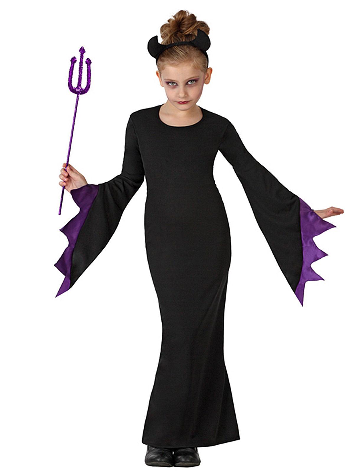 Svart djävul - Halloweenkostym för barn 099131ecf3fd0