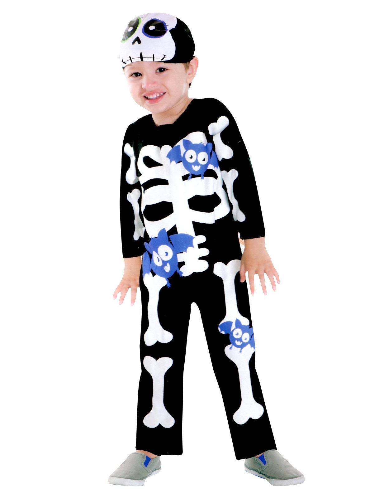 Ursött skelett - Halloween kostym för barn c7722424b7154