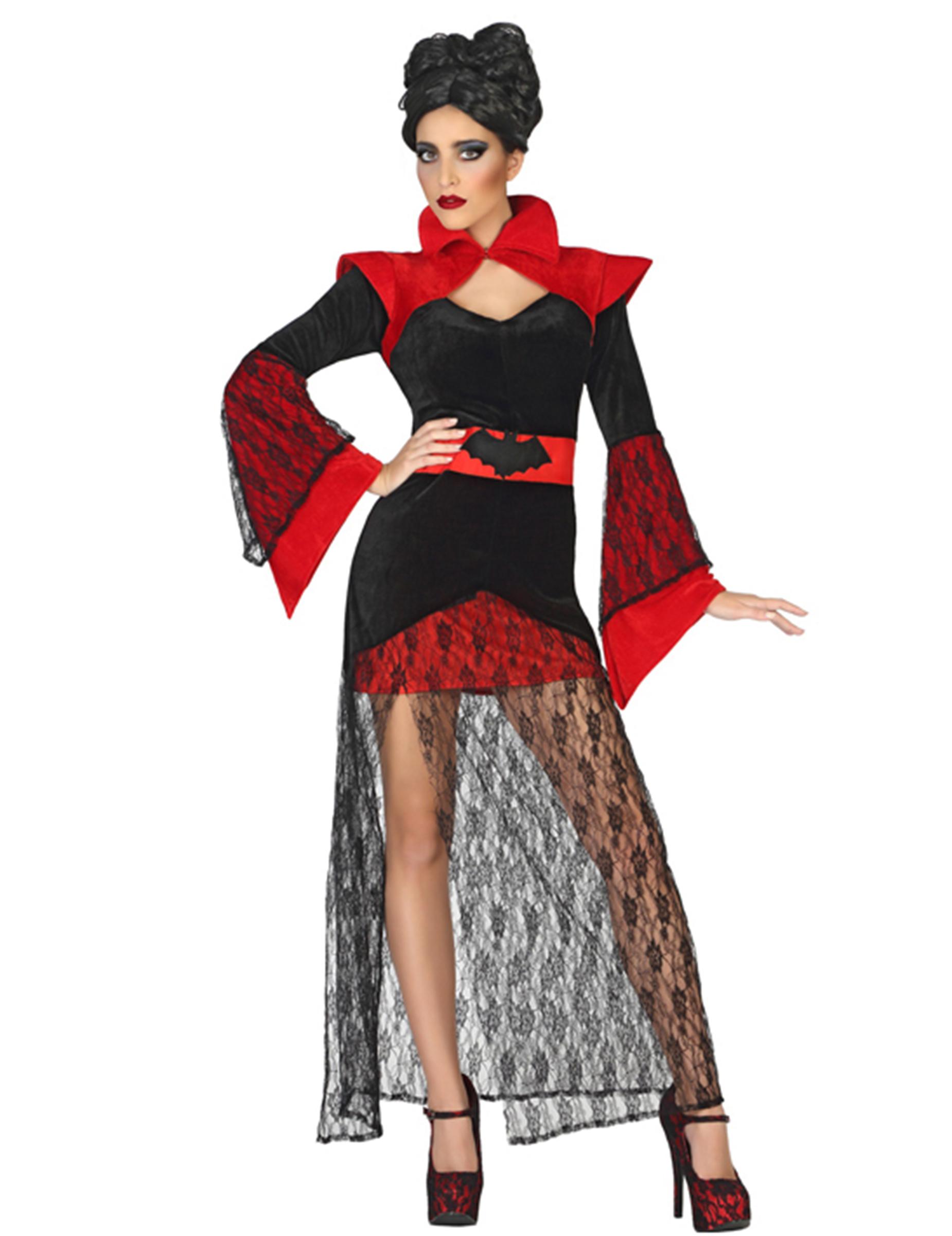 Exotisk vampyr - Halloweenkostym för vuxna 6988f4f4bdc56