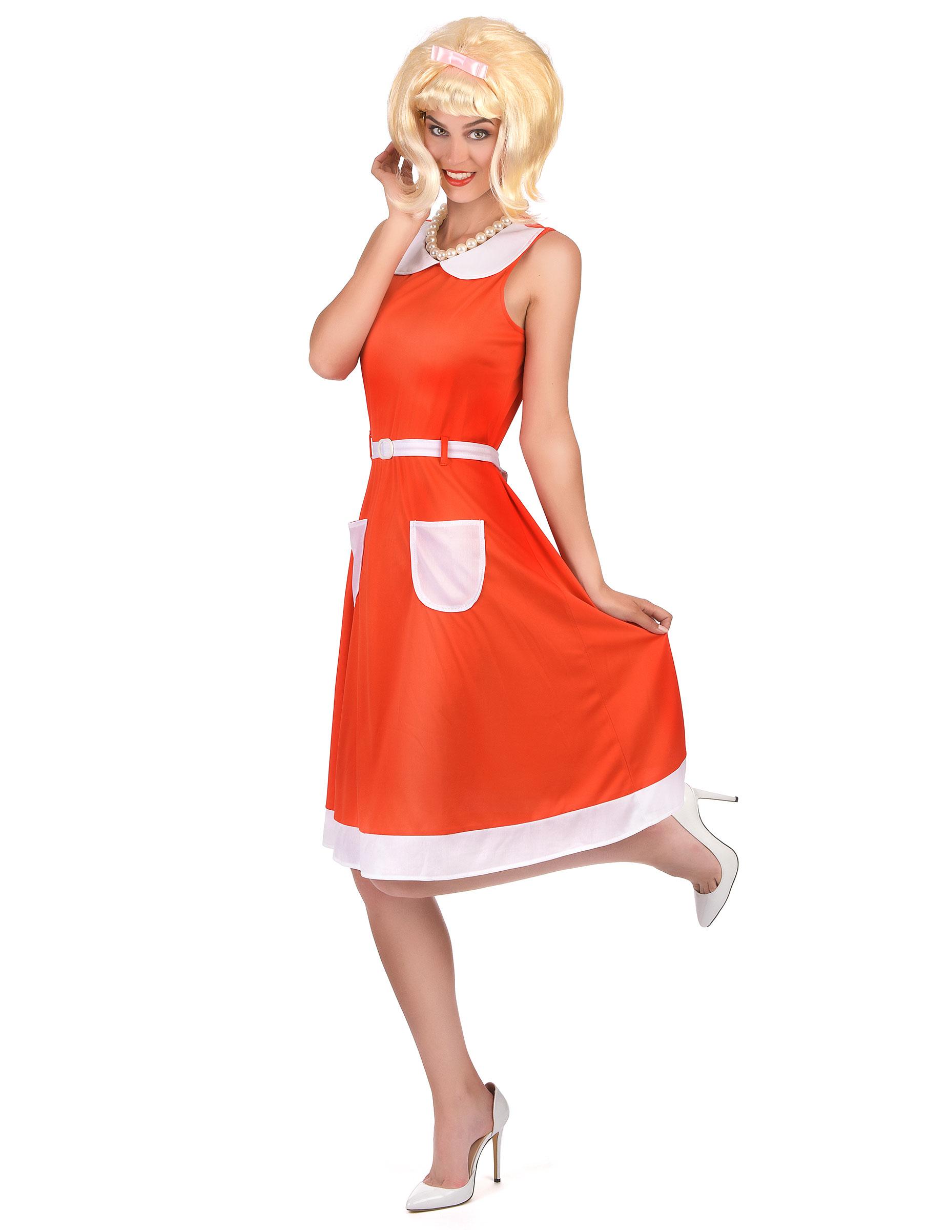 Vintage klänning till 50- och 60-talsmaskeraden för vuxna-1 567d1f02f5e98
