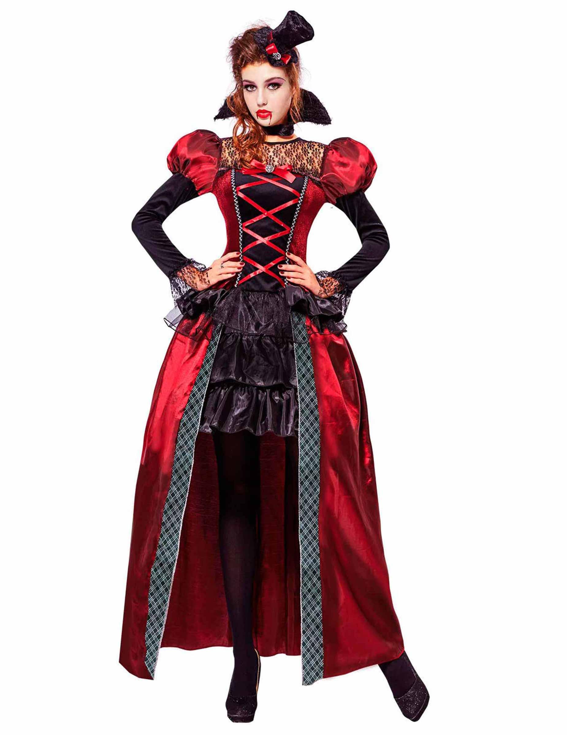 231100a67180 Viktoriansk vampyrdräkt för vuxna - Halloween Maskeraddräkt, köp ...