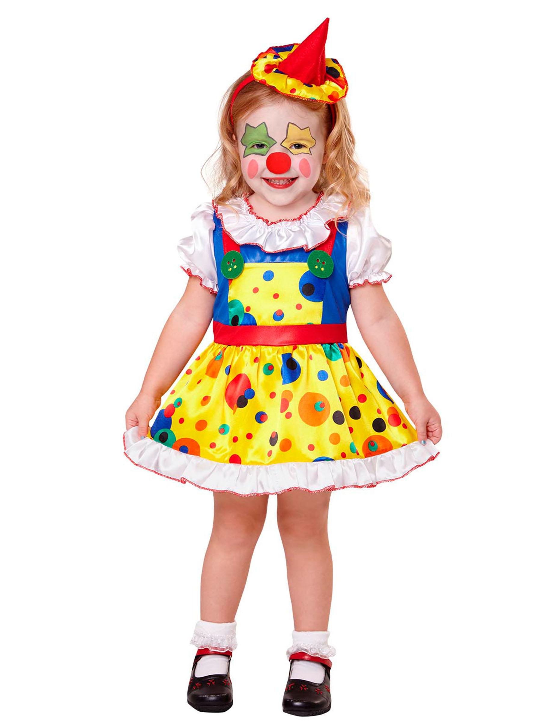 Clownen Snuggles - Maskeradkläder för vuxna 2fdc1f3135151