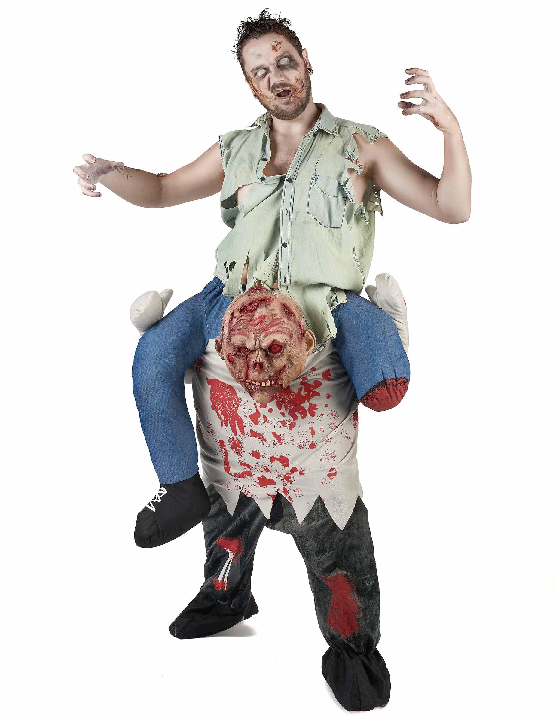 Rider på en zombie - Carry me maskeraddräkt för vuxna 956400b9e6e16