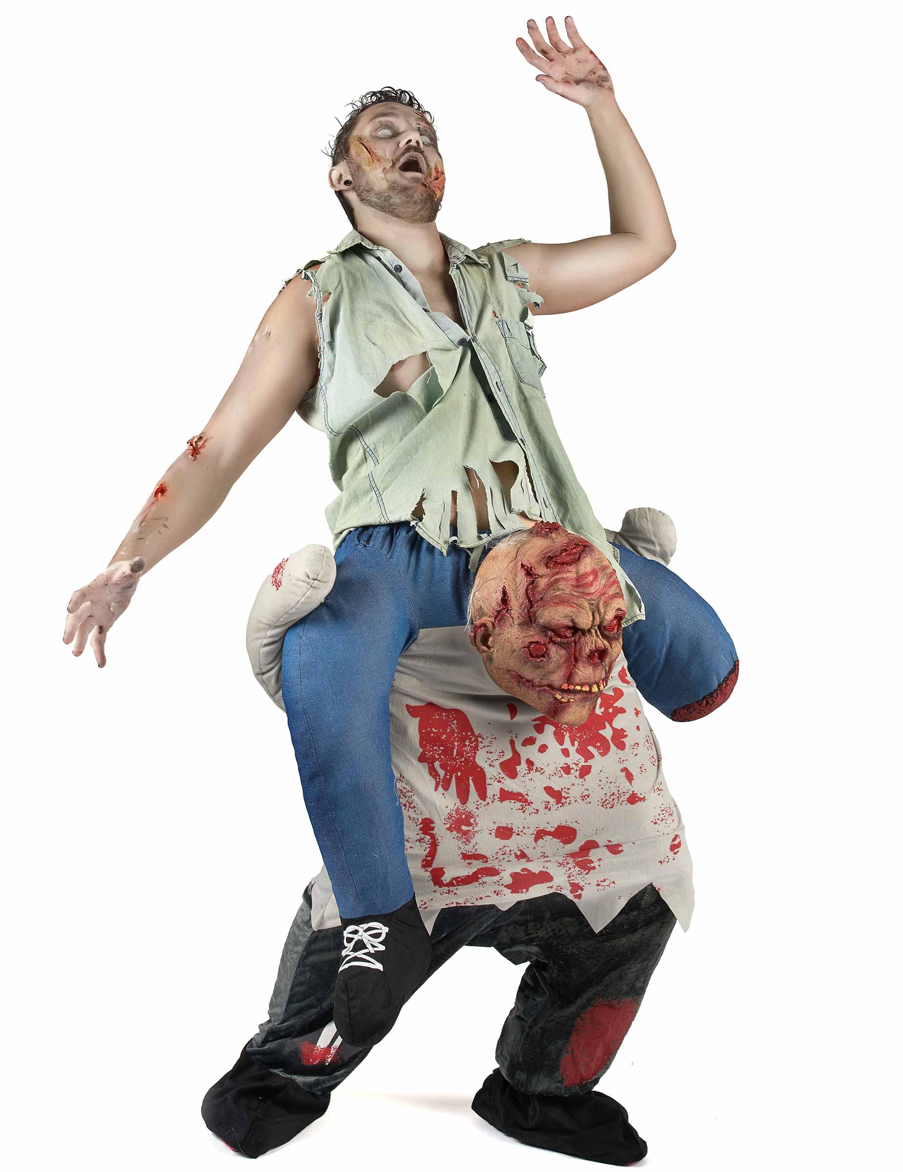 Rider på en zombie - Carry me maskeraddräkt för vuxna-1 b0f77610c913d