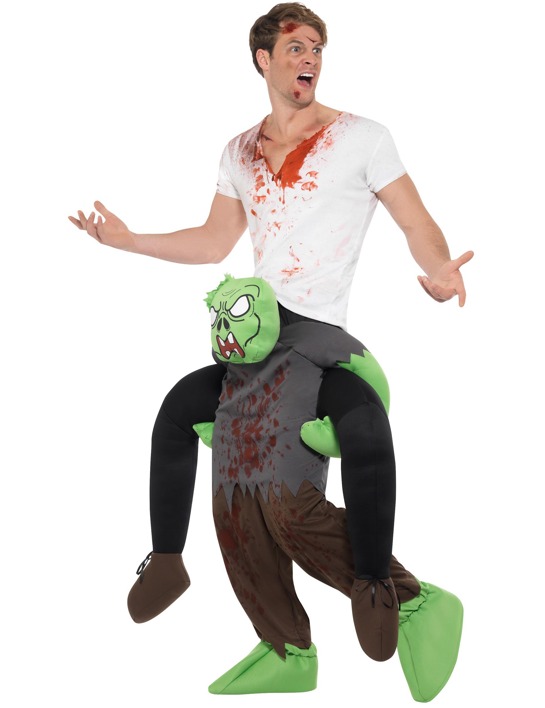 Kidnappad av en zombie - Carry me-dräkt till Halloween-1 0d73afd548125