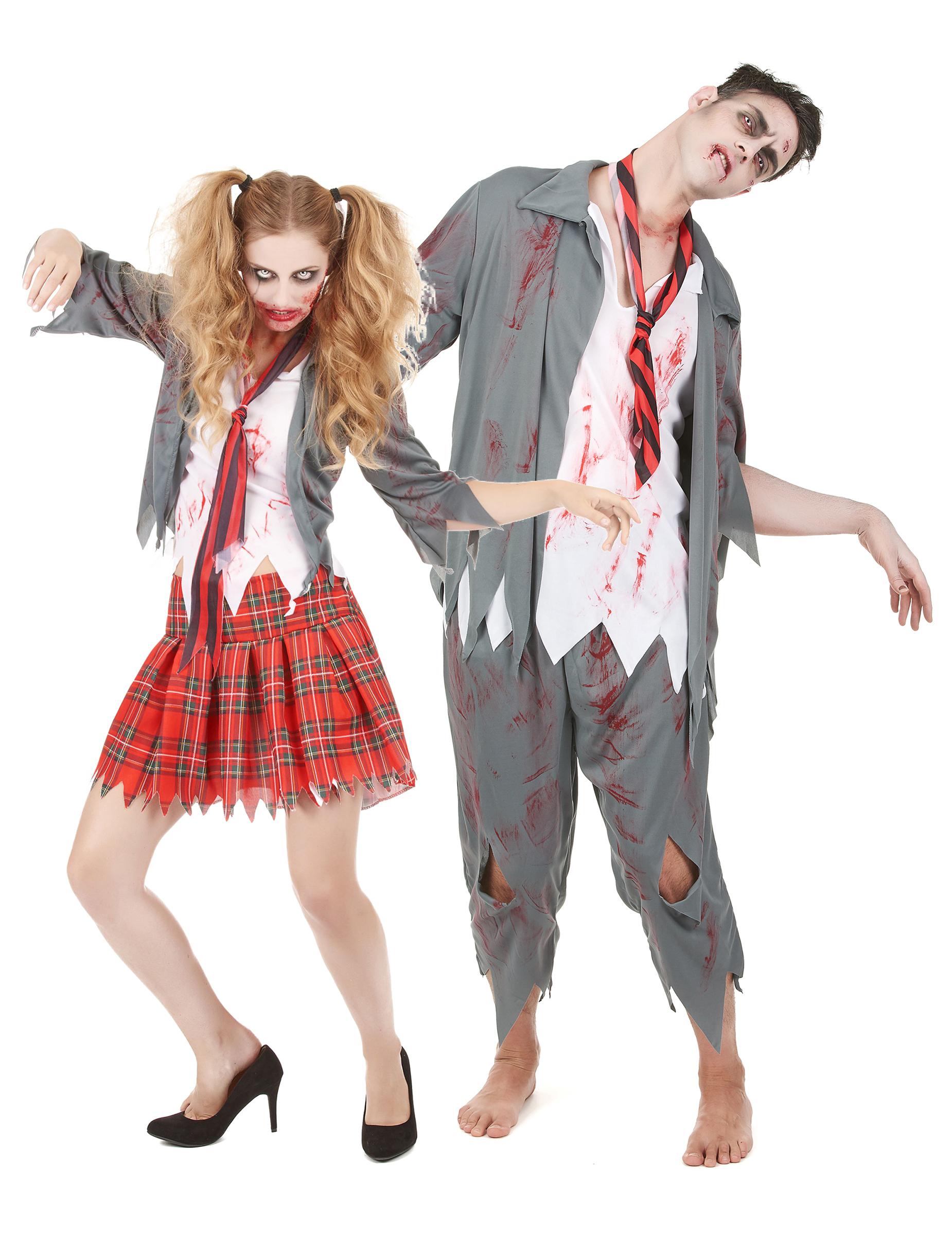 Zombie Elever - Halloweenkostym för par 5fc068a6ca464