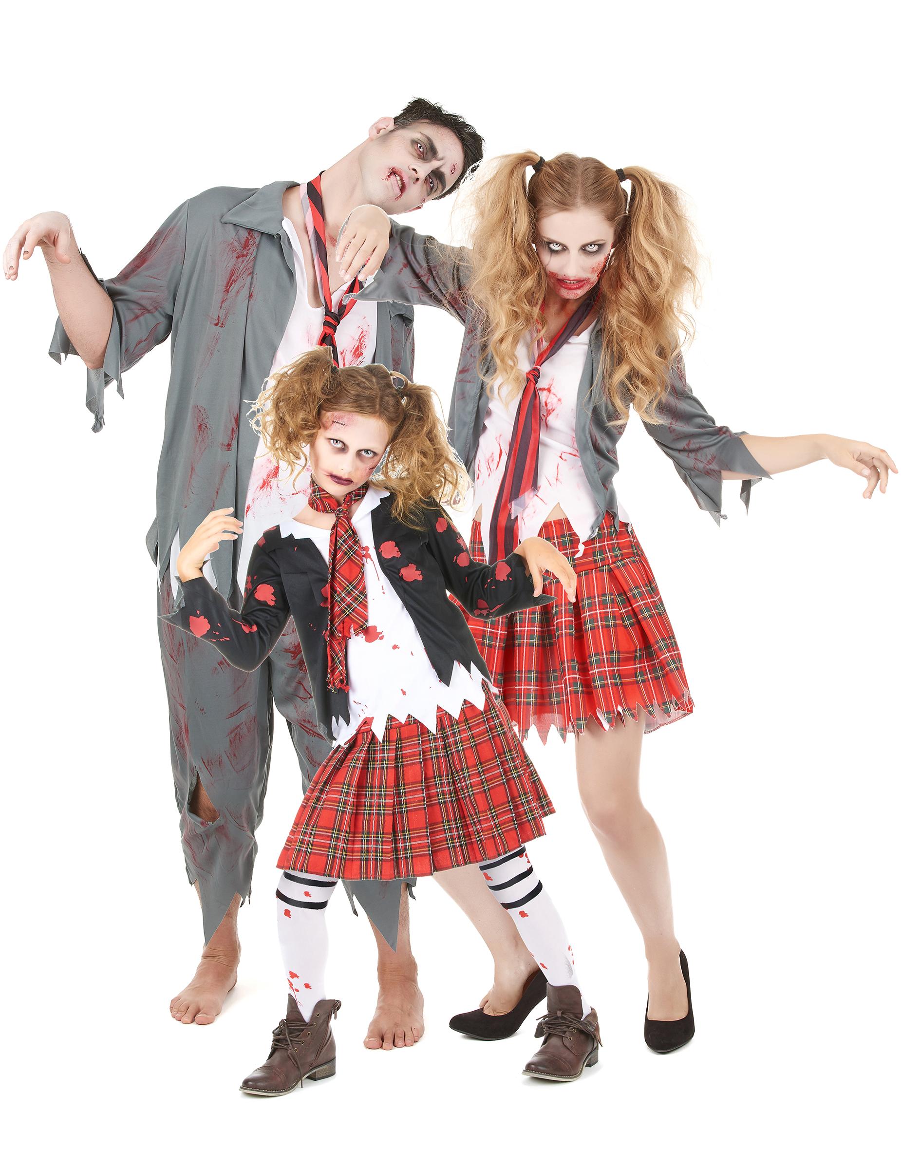 Familjen Zombie - Halloweenkostym för grupper 10ae1f2c3defb