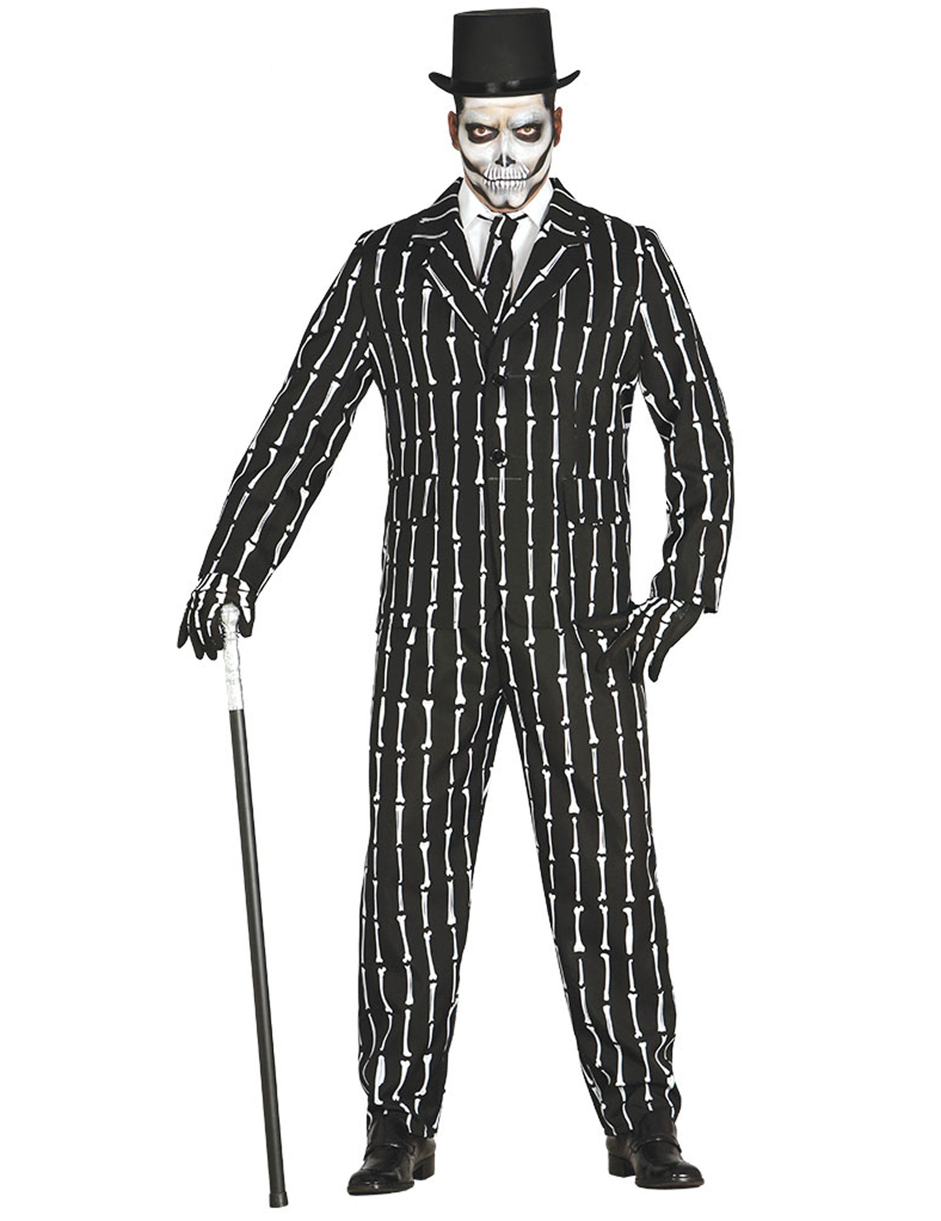 Mr. Bones - Maskeradkläder för vuxna till Halloween 4dd7da85ab3f7
