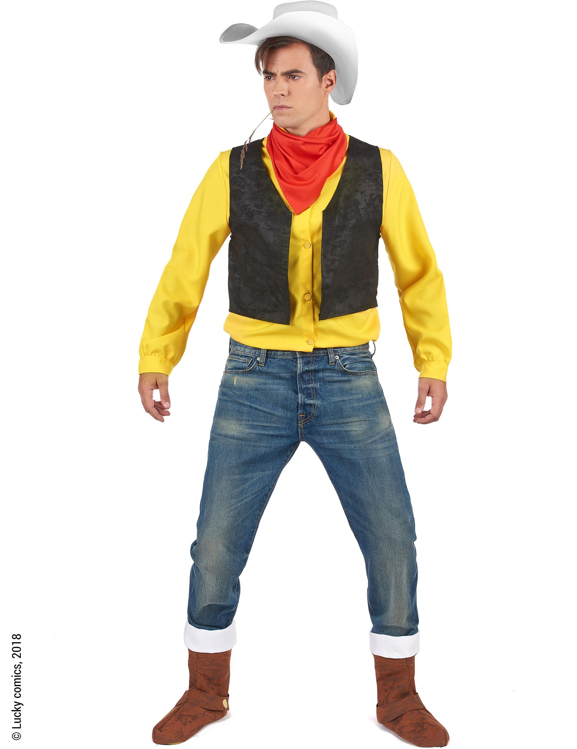 Lucky Luke™ - Maskeraddräkt för vuxna 5cf50f0311ab6