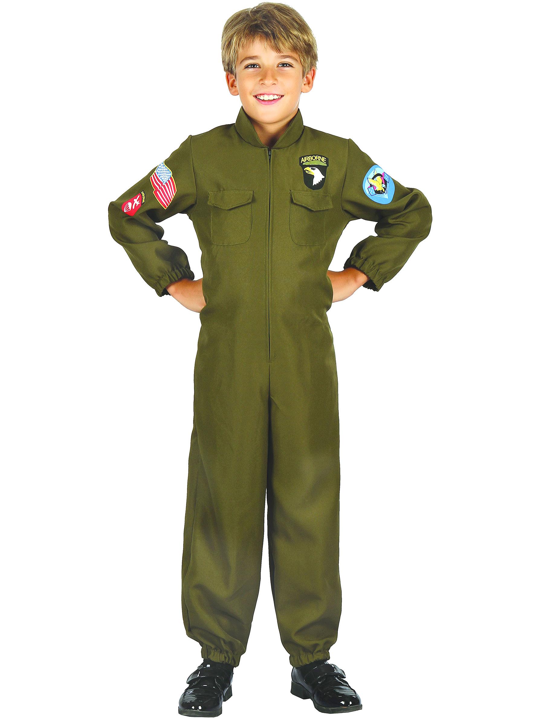 Pilot av jaktflygplan - Maskeradkläder för barn aa3626c363eeb