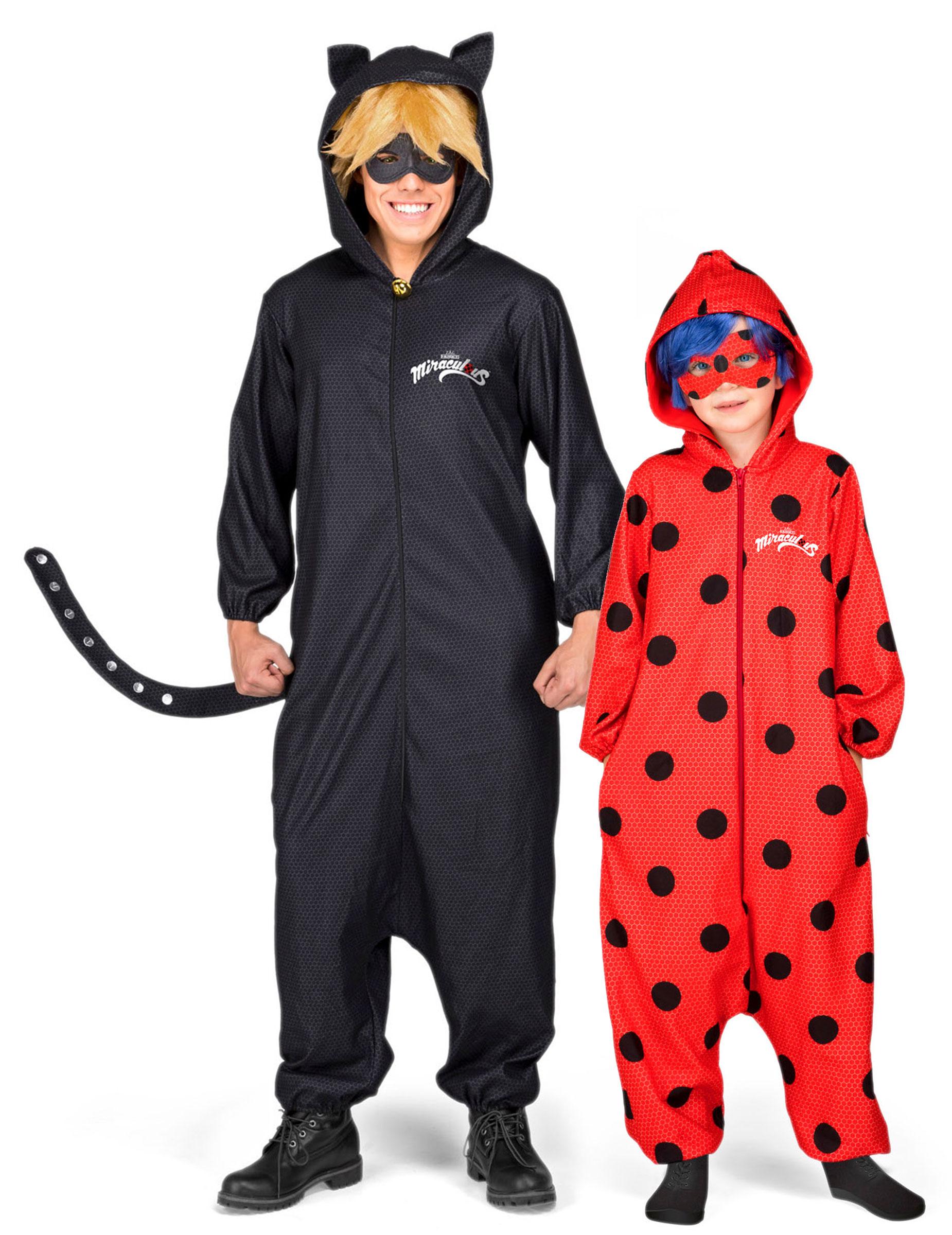 Ladybug™   Cat Noir™ - Pardräkt för vuxen och barn d088c410deb05