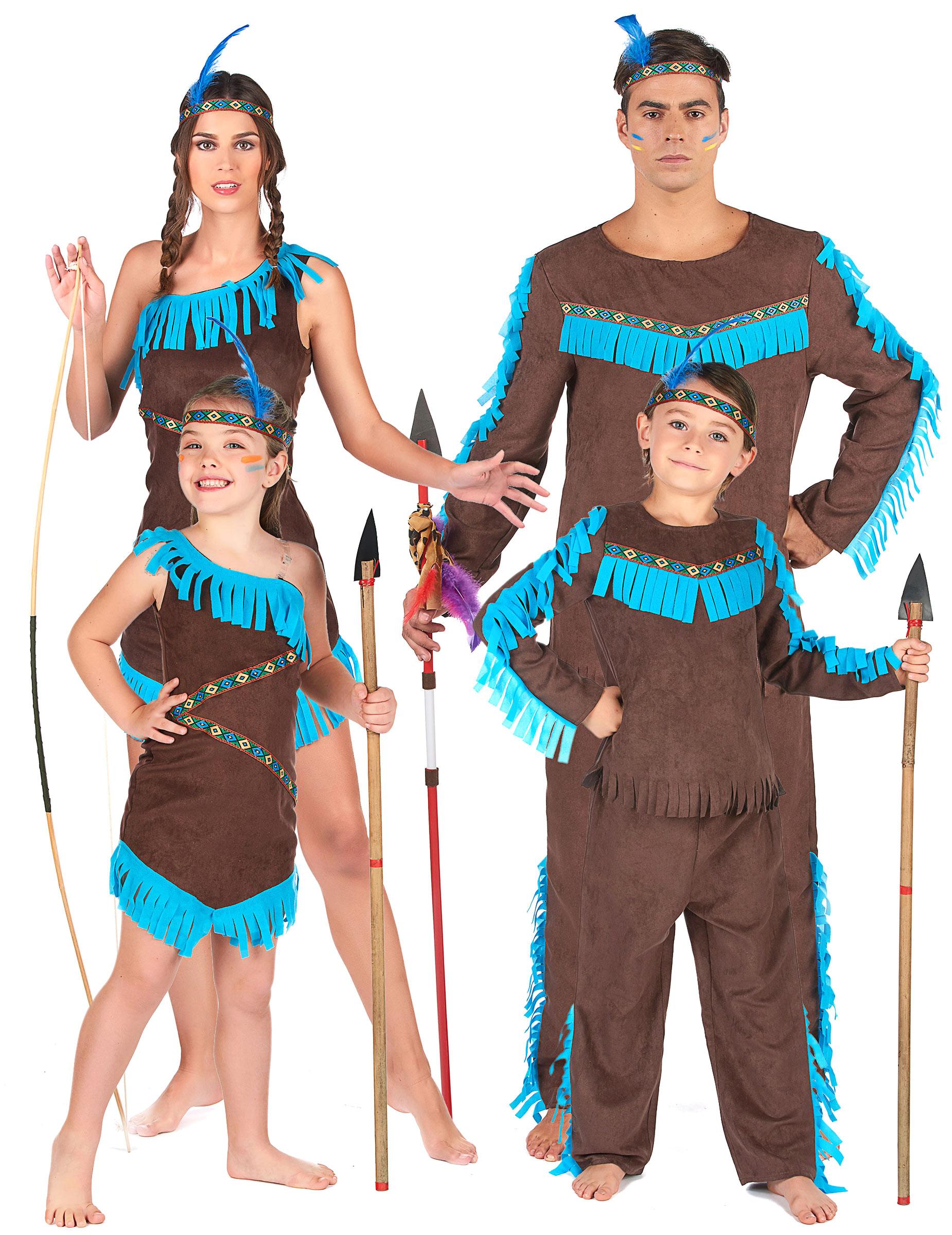 Indianstam - Gruppdräkt för vuxna och barn 8abe88b628d0f