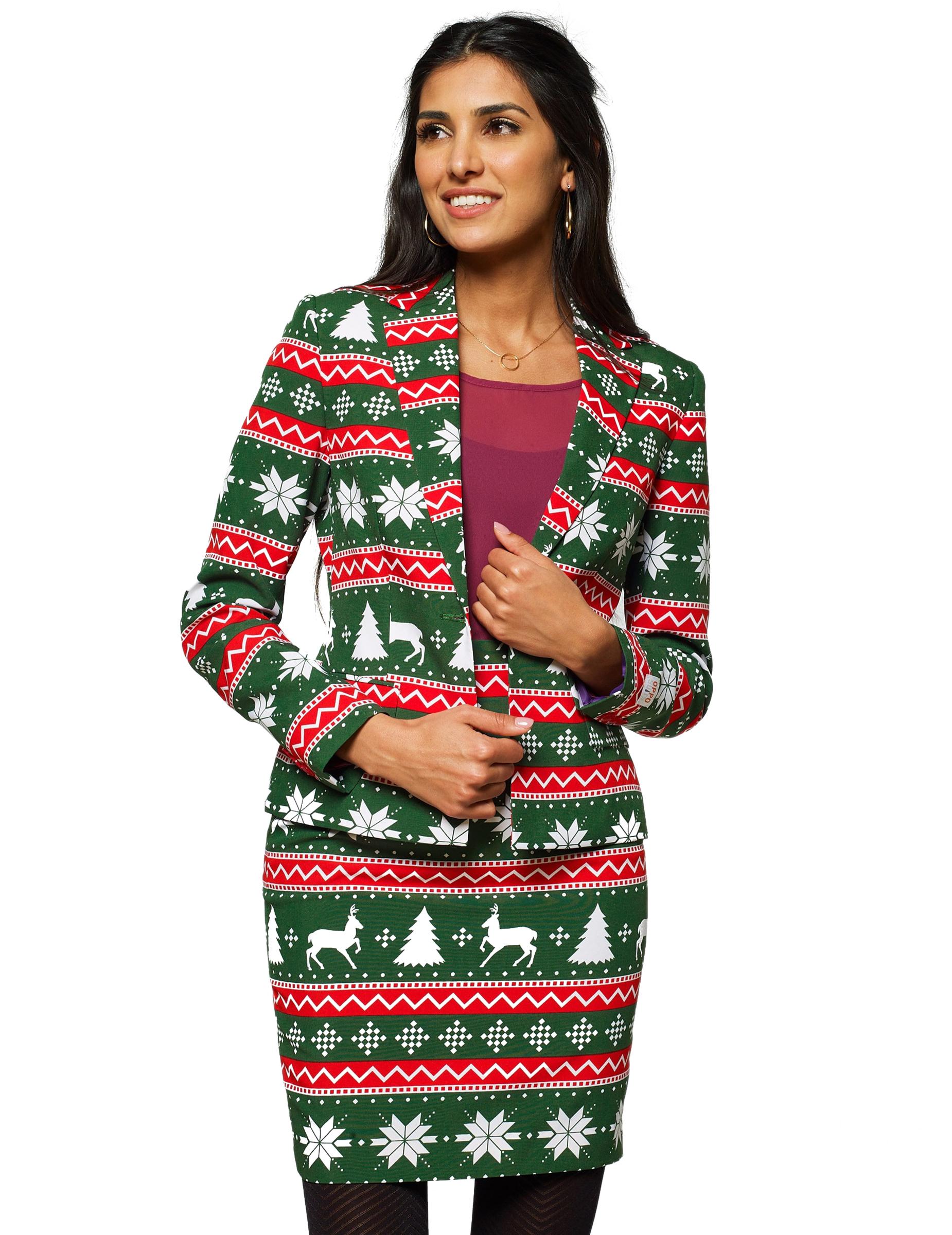Mrs. Festive green - Kostym från Opposuits™ för damer 41eed525c8535