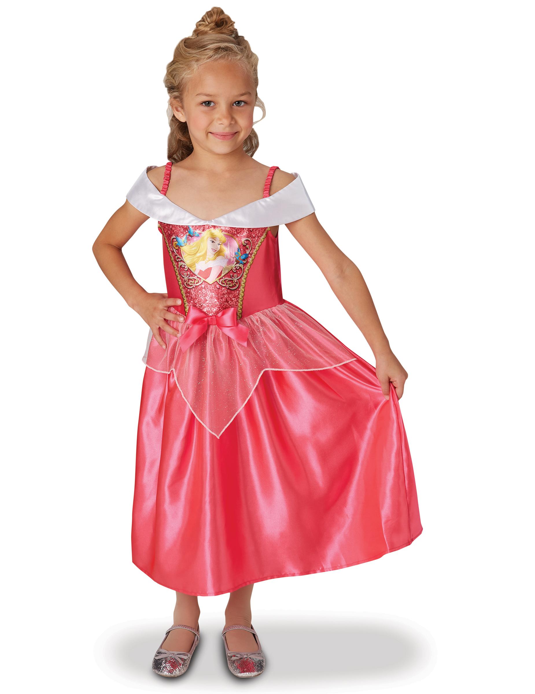 Törnrosa™ från Princesess Disney™ - Klassisk maskeraddräkt med paljetter 23a5f8cc4d8d4