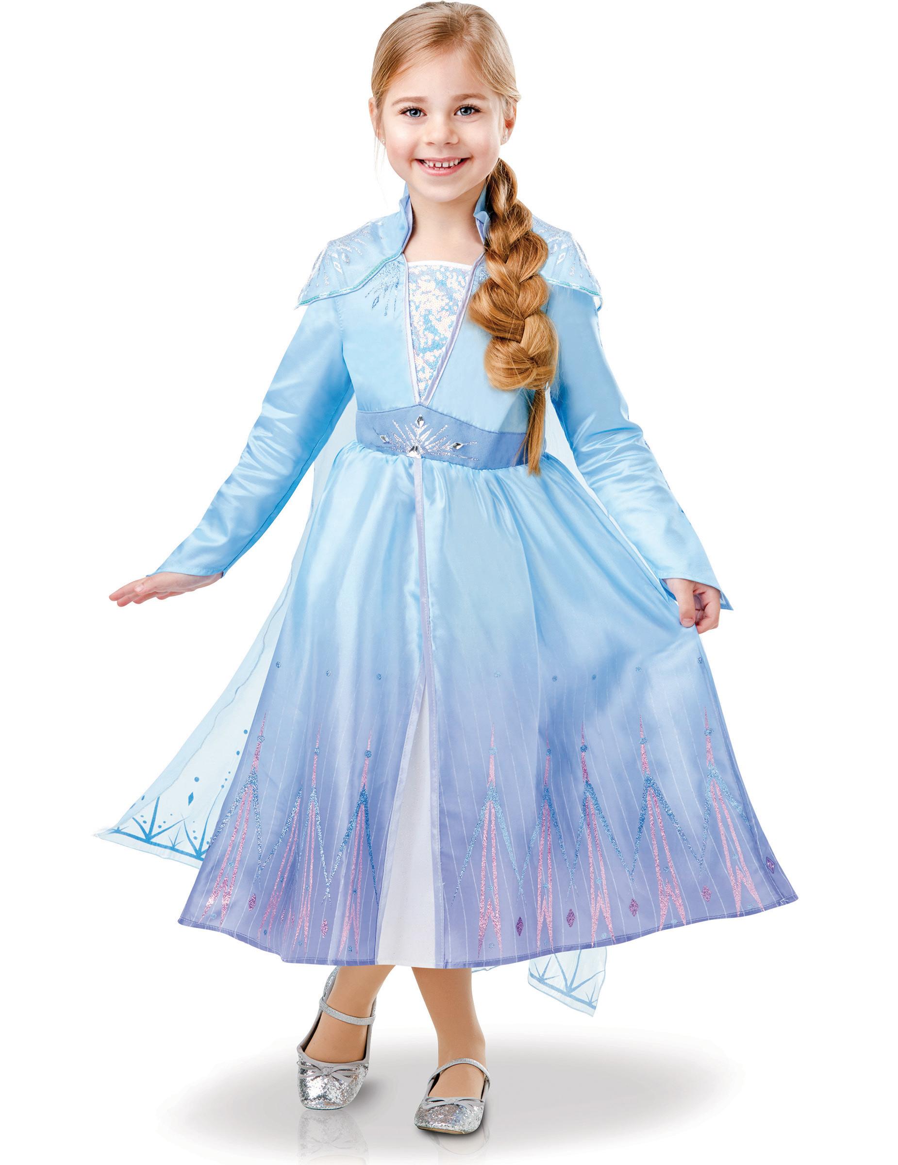 Frost 2 Elsa LYX klänning, Frozen