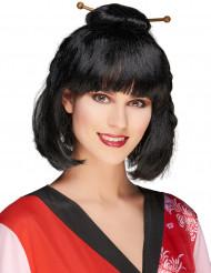 Asiatisk frisyr - Maskeradperuk för vuxna