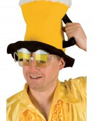 Supporterglasögon i form av ölsejdlar vuxna