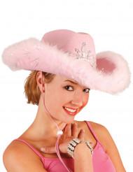 Rosa cowgirlhatt dam