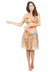 Söderhavsinspirerad flerfärgad kjol för vuxna