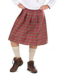 Kilt med skotsk touche för vuxna