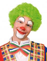 Grön afroperuk clown vuxna