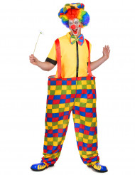 Clowndräkt herrar