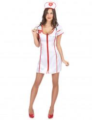 Sexig sjuksköterskedräkt för vuxna till maskeraden