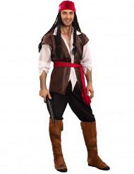 Fäktande Fredrik - Piratdräkt för vuxna