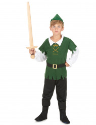 Pojken från skogen - Maskeraddräkt för barn