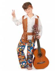 Brun hippiekostym - Maskeradkläder för barn