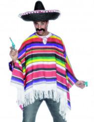 Mexikoinspirerad poncho herrar