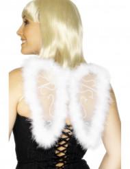 Vita vackra änglavingar - Tillbehör till maskeraden