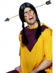 Mitt i prick - Diadem med pil för humoristisk illusion