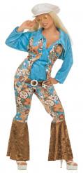 Fröken hippie - Maskeraddräkt för vuxna