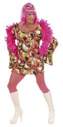 Grön disco drag queen - utklädnad vuxen