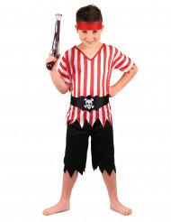 Pirat med randig t-shirt - Maskeradkläder för barn