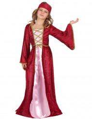 Medeltida prnsessa - Utklädnad för barn till maskeraden