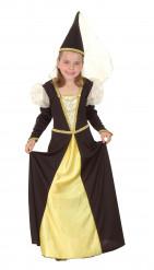 Medeltida prinsessdräkt för barn