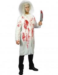 Blodig doktor herrdräkt Halloween