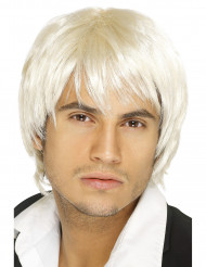 Pojkbands peruk i blont