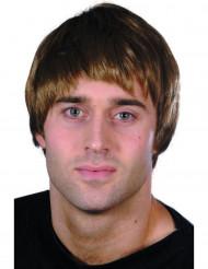 Modern kort brun peruk