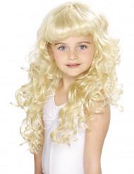 Blond Prinsessperuk för barn