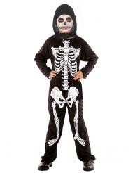 Skelett - utklädnad barn Halloween