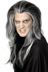 Vampyrperuk Halloween Vuxen