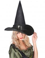 Häxhatt i Sammet Halloween Vuxen