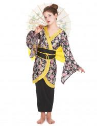 Geisha-inspirerad maskeraddräkt för barn